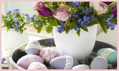 14 Dicas Originais de Decoração Para a Páscoa 14