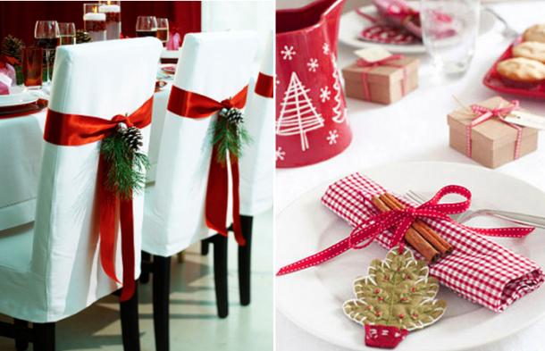 Ideias De Natal ~ 6 Ideias para Decorar a Mesa de Natal Feminina
