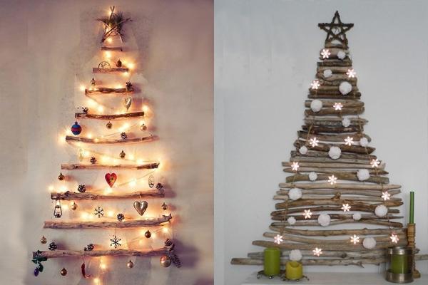 decorar arvore natal simples:Ideias de Árvores de Natal Originais- Feminina