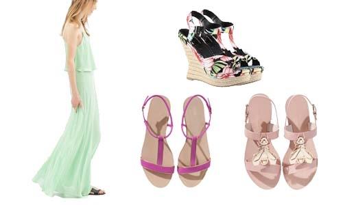 Como Combinar Vestidos com Sapatos (2)