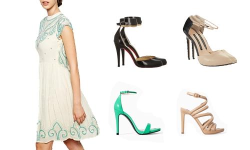 Como Combinar Vestidos com Sapatos (3)