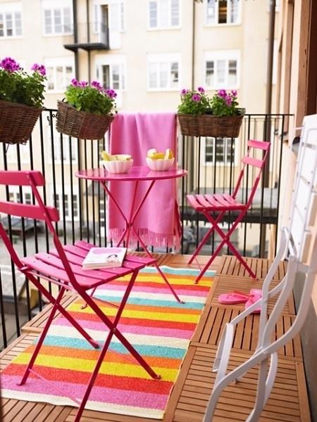 Dicas para decorar um terra o sem gastar muito dinheiro - Mesas para terrazas pequenas ...