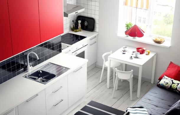 Como Decorar uma Cozinha Pequena- Feminina
