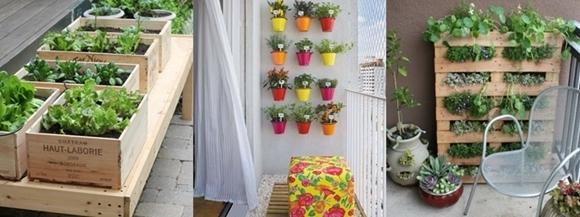 Como Fazer um Jardim na Varanda - estruturas