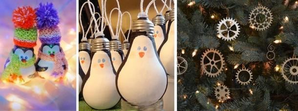 Ideias de Decoração Reciclada para o Natal (1)