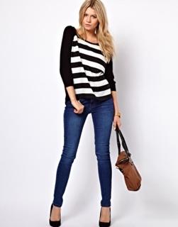 Parecer mais magra - jeans