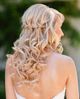 Penteados de Noiva - trança