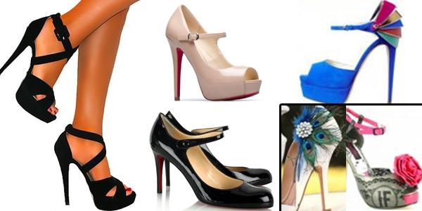 Sapatos que Combinam com Vestido Preto (2)