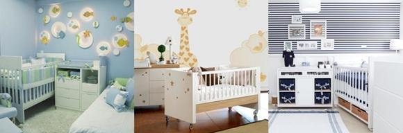 Temas para quarto de bebé - menino