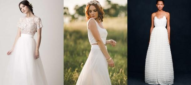 Vestidos de Casamento de Duas Peças (3)
