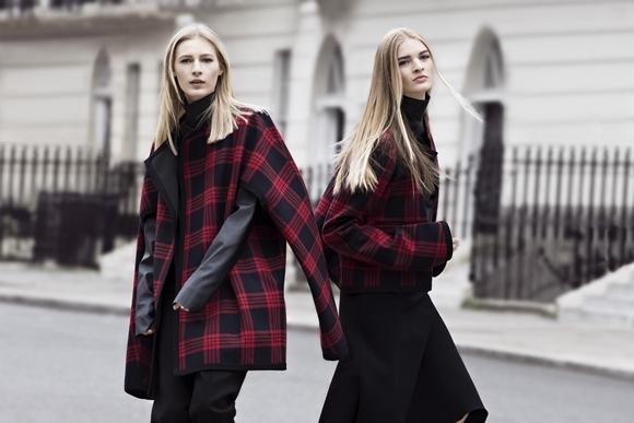 Zara Outono/Inverno 2013/2014 - tartan