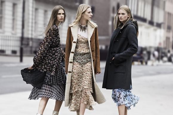 Zara Outono/Inverno 2013/2014 - vestidos